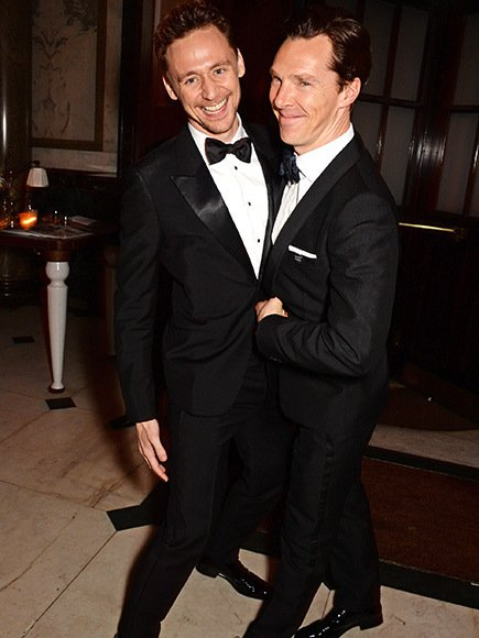 Benedict Cumberbatch y Tom Hiddleston