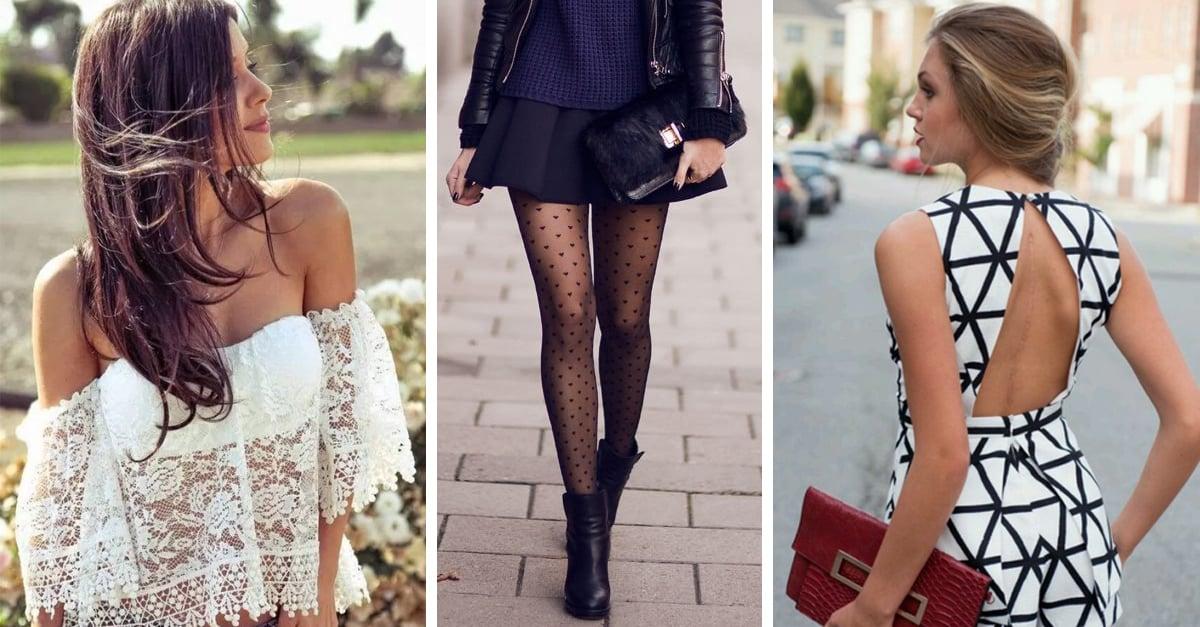 15 Cosas que le darán un toque sexi a tu estilo