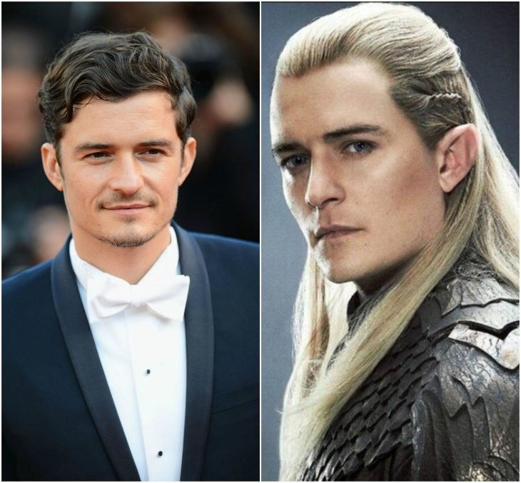 Orlando Bloom como Legolas (Lord of The Rings)