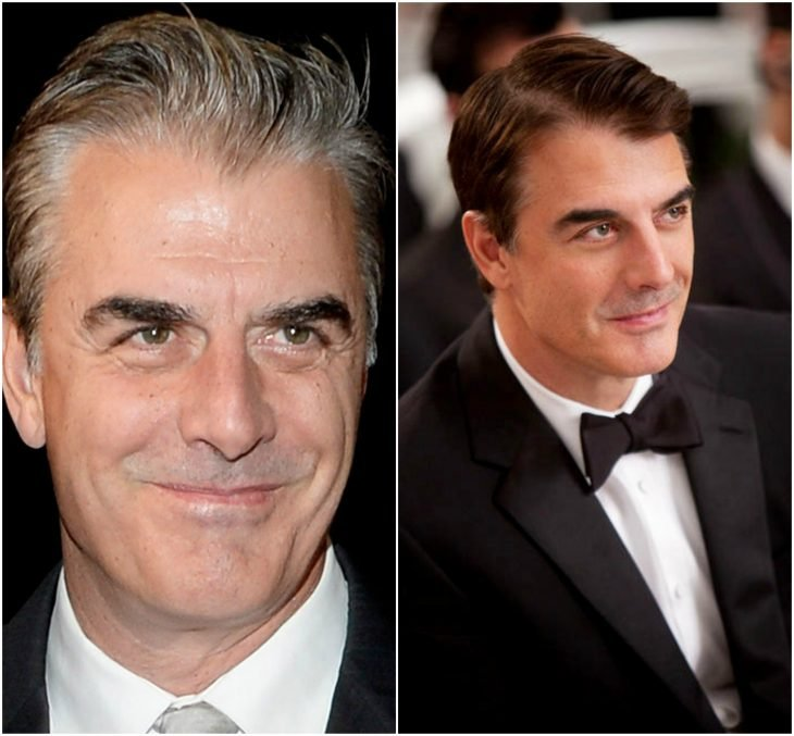 Chris Noth como John James Mr. Big Preston (Sex and the City)