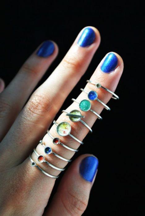 anillos de planetas