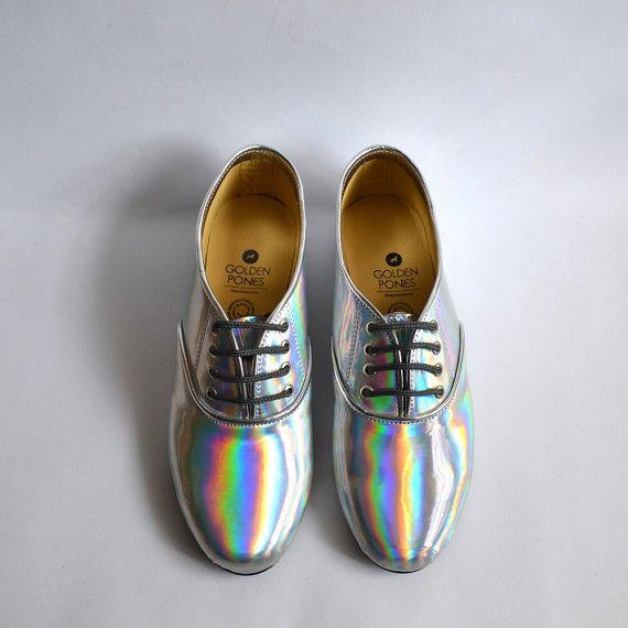 oxfords holograficos