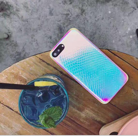 funda para celular holografica