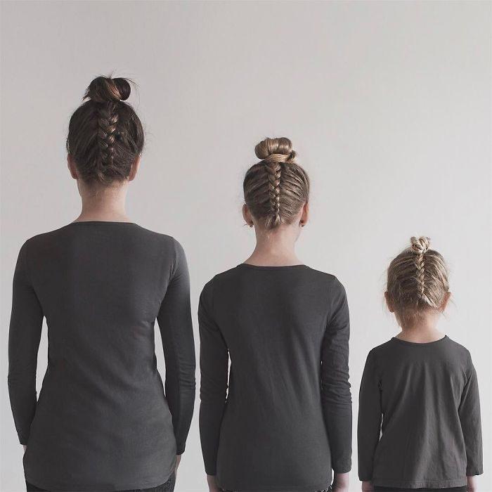 All that is three con el mismo peinado