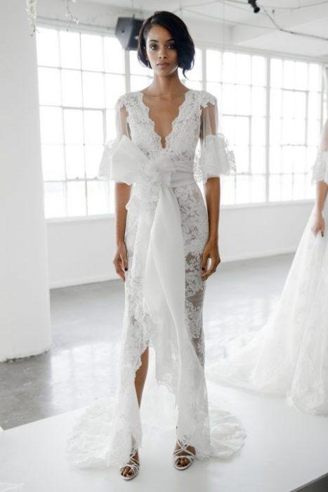 vestido de novia de marchesa