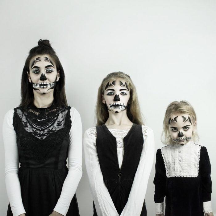 All that is three disfraz de catrina