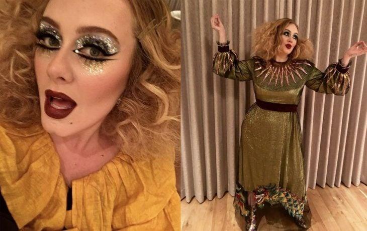 Adele arlequin chino