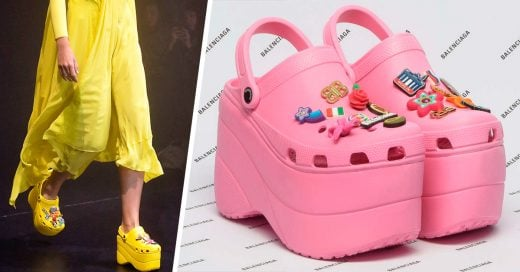 Balenciaga acaba de presentar los Crocs con plataforma, y no sabemos cómo sentirnos al respecto