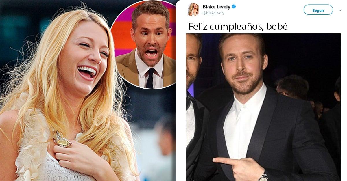 Blake Lively felicitó a Ryan Reynolds por su cumpleaños de una manera muy especial; Internet la corona como reina del troleo
