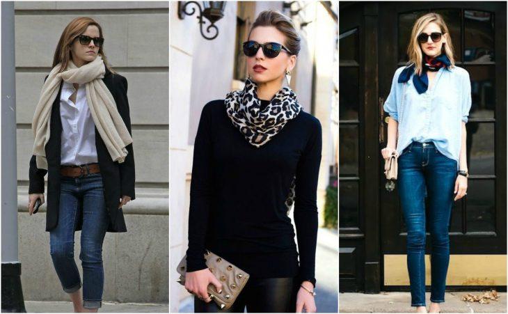 estilos con bufandas