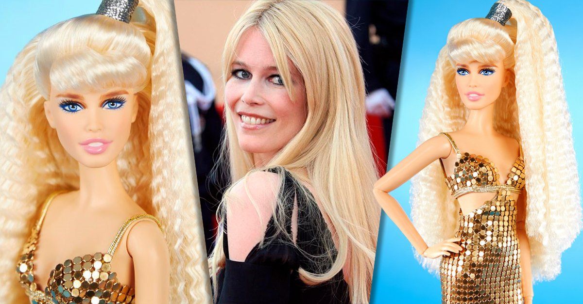 Claudia Schiffer ya tiene su propia muñeca Barbie