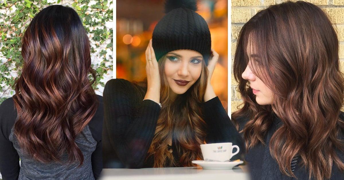 Coffee bean, la nueva tendencia que te hará cambiar de color tu cabello