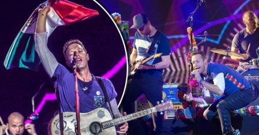 Coldplay dedicó a México su canción Life is Beautiful en Estamos Unidos Mexicanos