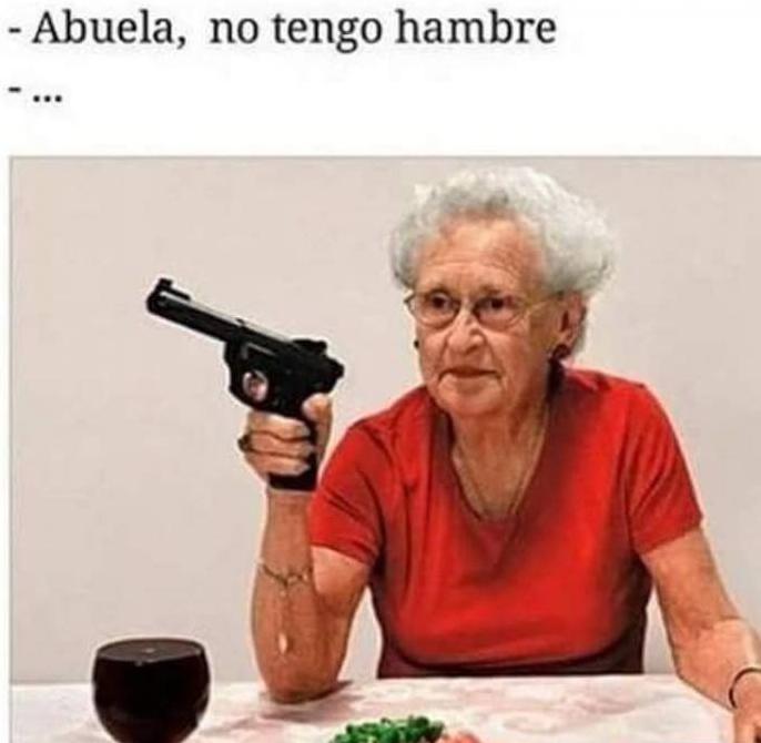 comentarios y memes sobre las abuelitas