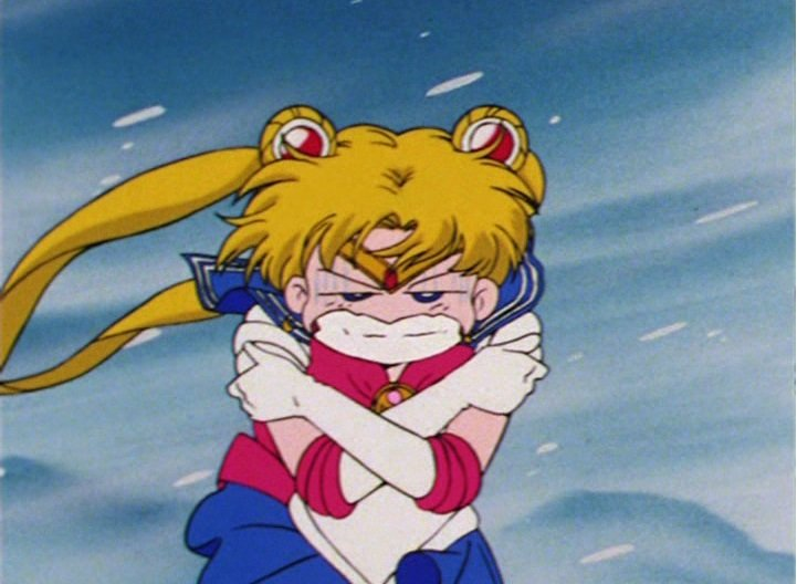 Escena de la serie Sailor Moon