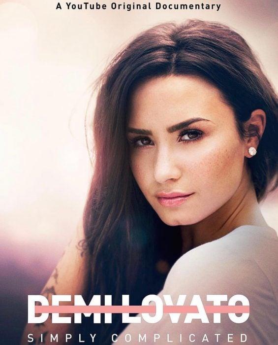 Demi Lovato portada de su documental