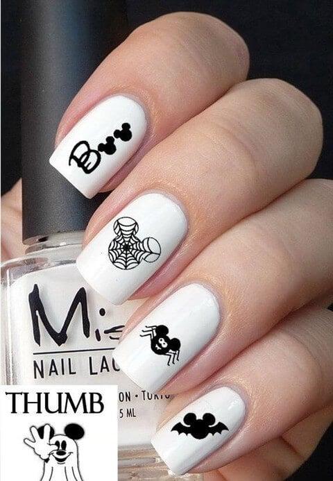 Diseños de uñas perfectos para usar en Halloween