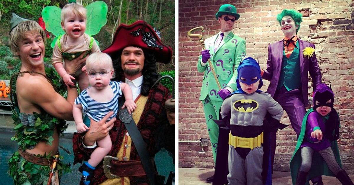 7 Veces que Neil Patrick Harris y su familia nos demostraron lo que es un gran disfraz de Halloween