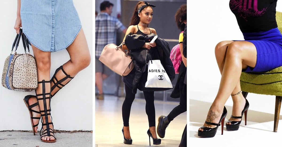 Elige el estilo de zapatos perfecto para ti según la forma de tus piernas
