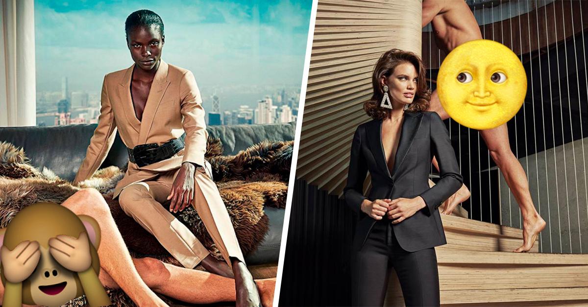 Esta campaña publicitaria da un giro a la cosificación sexual; cambian los roles de género
