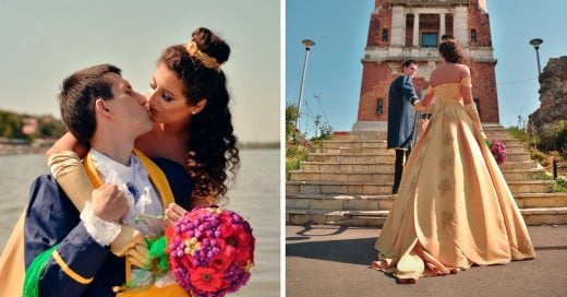 Esta pareja de novios aman el Cosplay y su boda lo comprueba