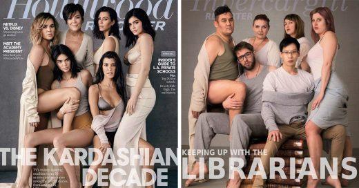 Estos bibliotecarios lucen más sensuales que las Kardashians