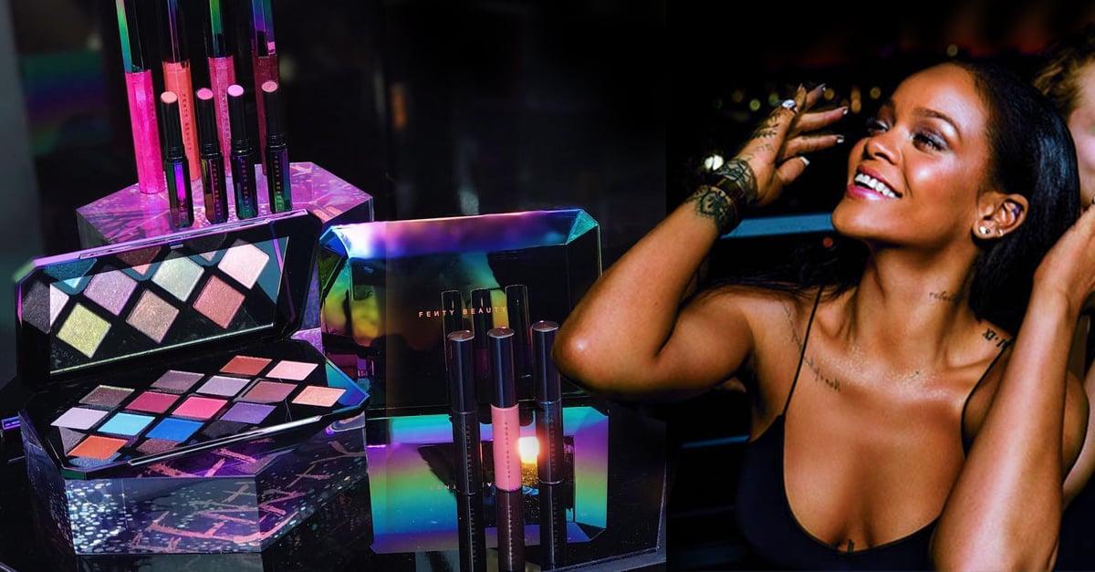 Rihanna le ha dado un color galácticoa su línea de maquillaje y es un sueño hecho realidad