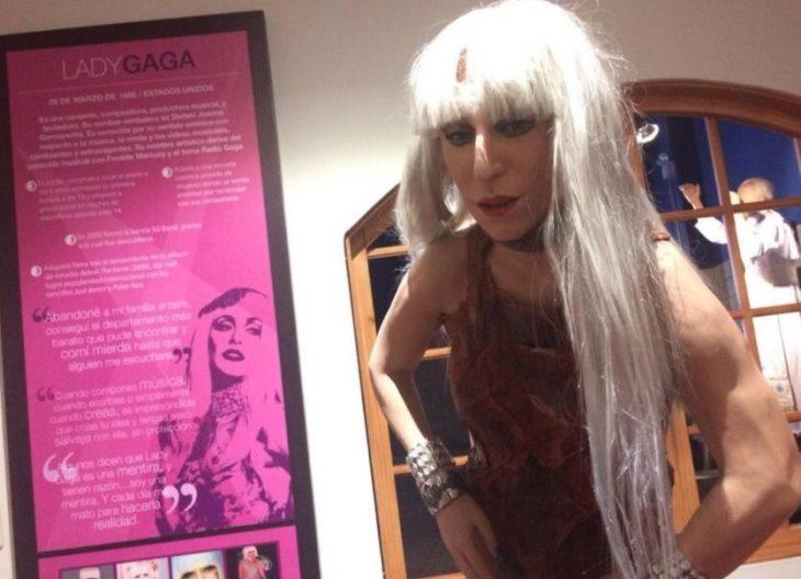 Figura de cera de Lady Gaga