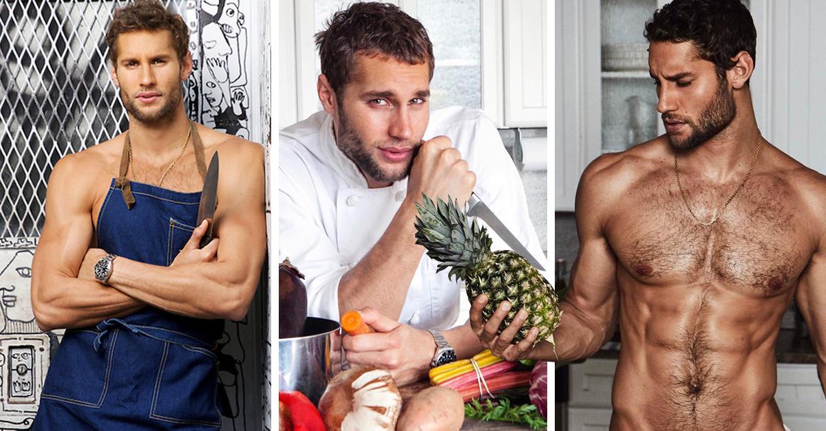 Franco Noriega el chef más sexi del mundo