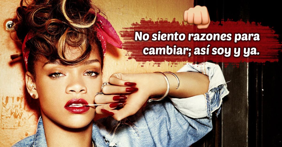 Frases Rihanna ruda