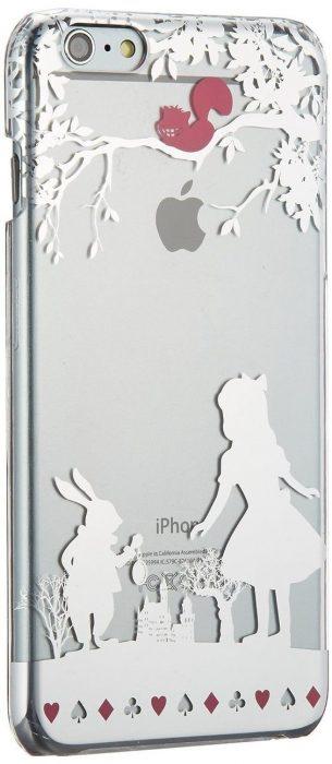 caratula de celular de plata