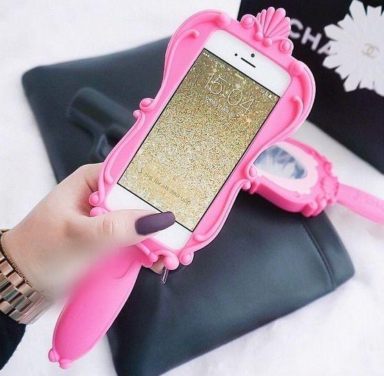 caratula de celular de espejo