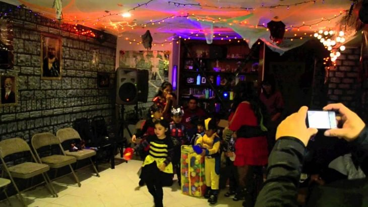 fiesta de halloween de niños
