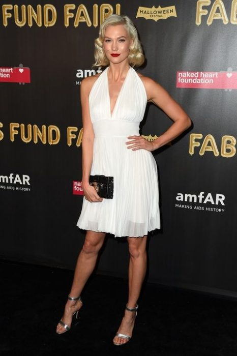 Karlie Kloss como Marilyn Monroe