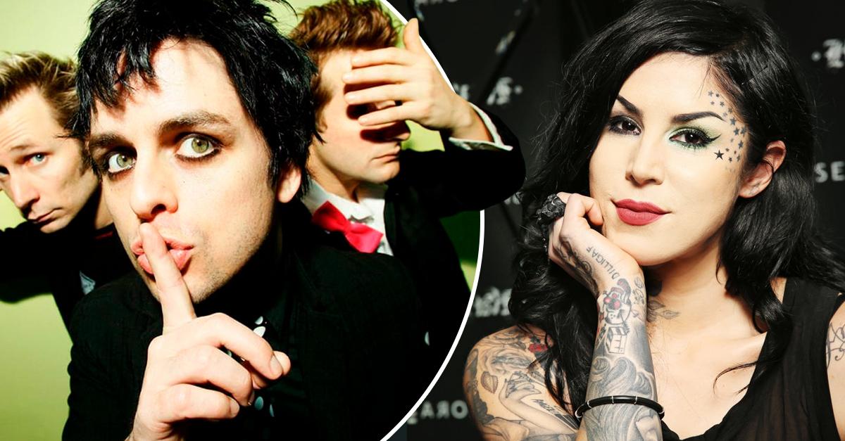 Kat Von D y Green Day lanzan un delineador que cumplirá todos tus sueños punk