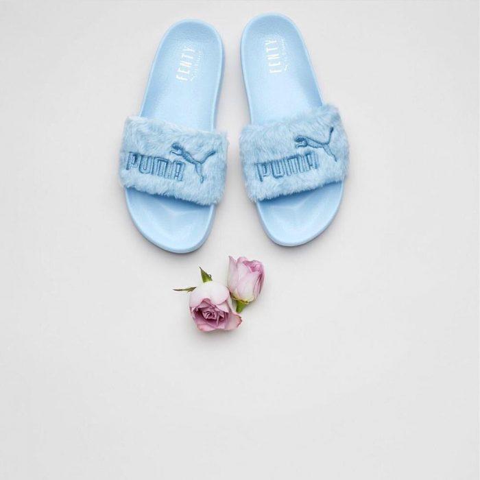 Sandalias creadas por Rihanna para Puma