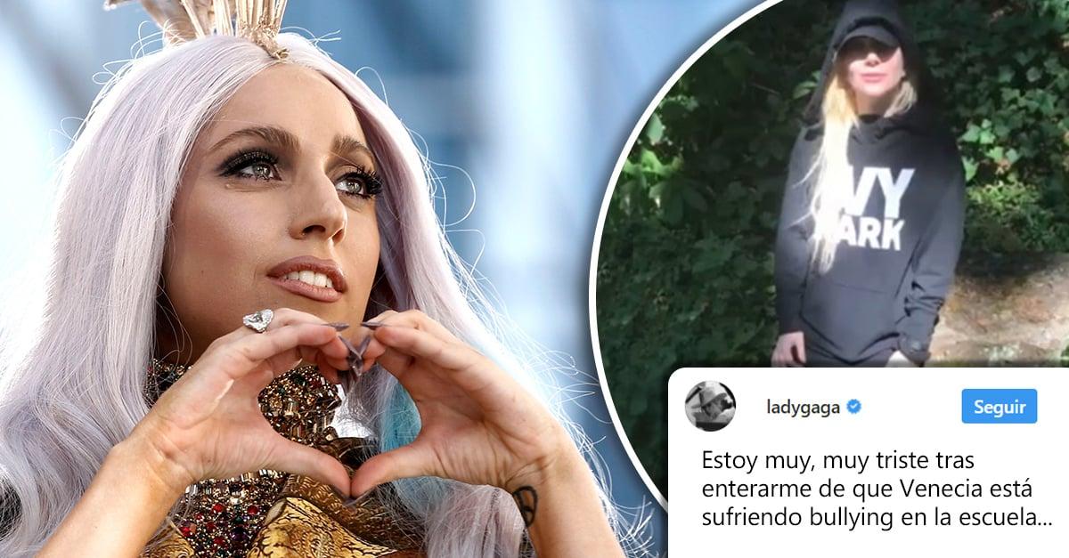 Lady Gaga defiende a una pequeña del bullying y se ha ganado nuestro corazón