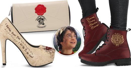 Las botas de Harry Potter y otros productos exclusivos para Potterheads ya pueden ser parte de tu colección