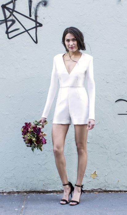 Looks para las novias que no quiere usar un vestido