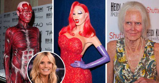 Heidi Klum es la reina del Halloween siempre impresionando con geniales disfraces