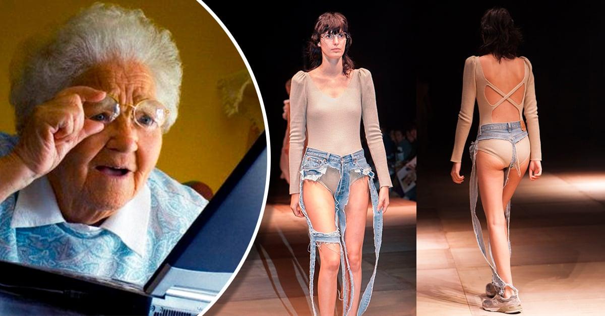 Los jeans de tanga son el apocalipsis de la mezclilla