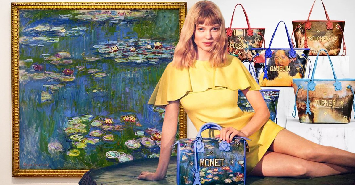 Louis Vuitton presenta su colección Masters, lleva las obras de arte más famosas contigo