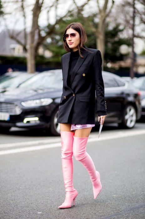 Maneras de usar botas altas