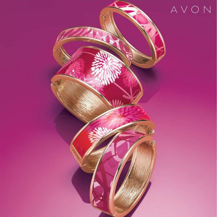 Colección de joyería Pink Hope de Avón