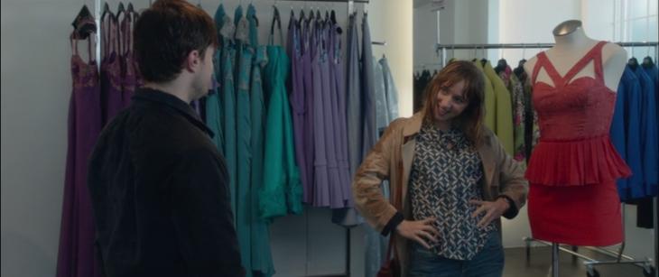 pareja de novios de compras