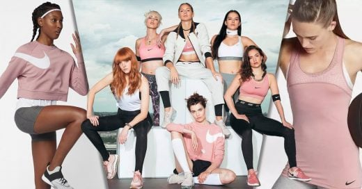Nike acaba de lanzar su colección 'rosa millennial'