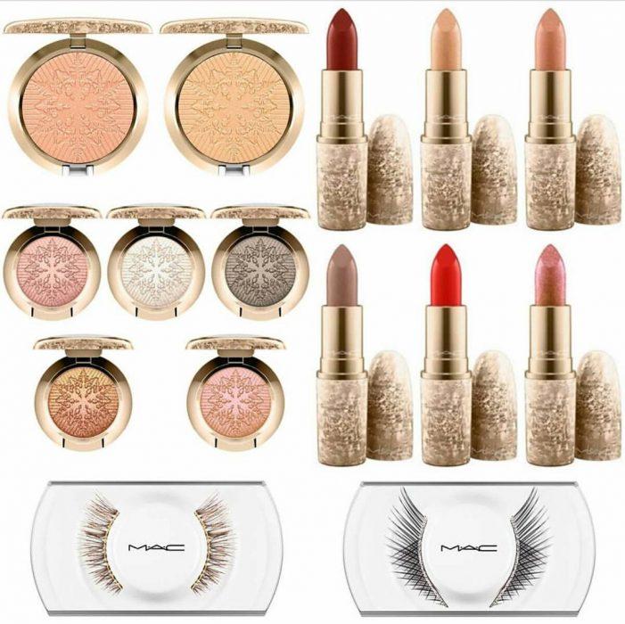 Colección navideña de Mac cosmetics