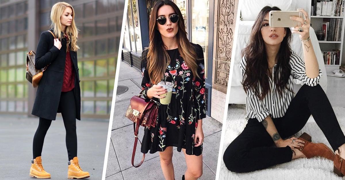 15 Outfits sencillos que puedes llevar a la universidad y al trabajo sin necesidad de cambiar de ropa