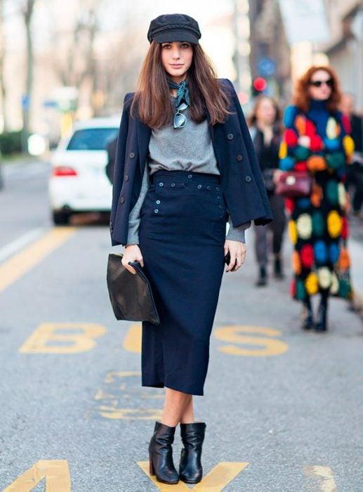 Outfits con boina que debes usar este otoño 2017