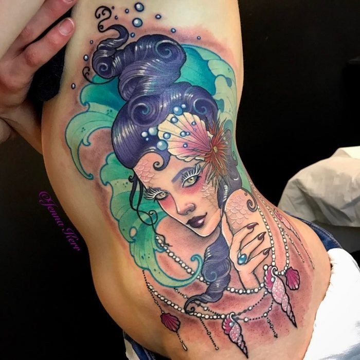 Tatuaje de sirena